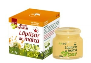 Laptisor de matca pur, crud conventional 10 g - Apiland