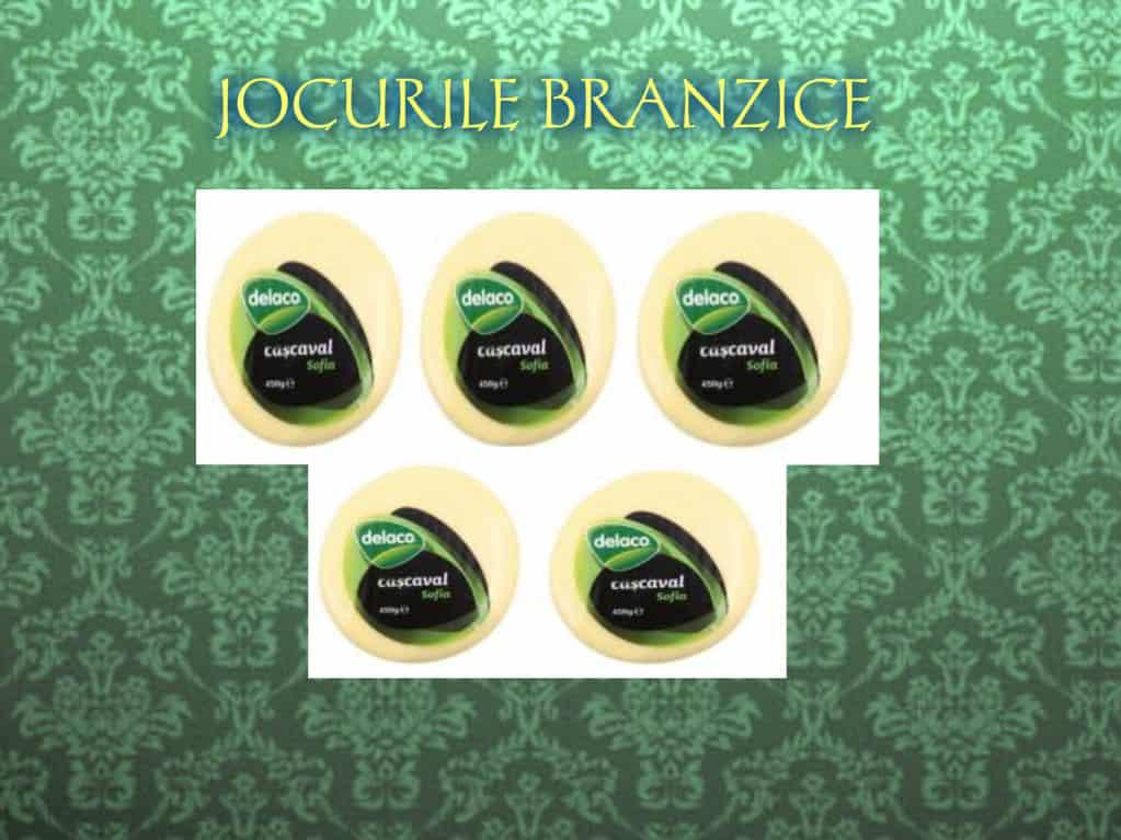 JOCURILE BRANZICE