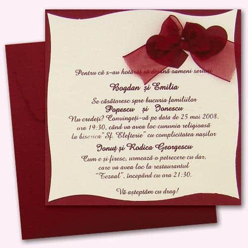 Te-ai logodit recent? Afla care este data perfecta pentru nunta ta pentru a o oficializa prin intermediul invitatiilor!