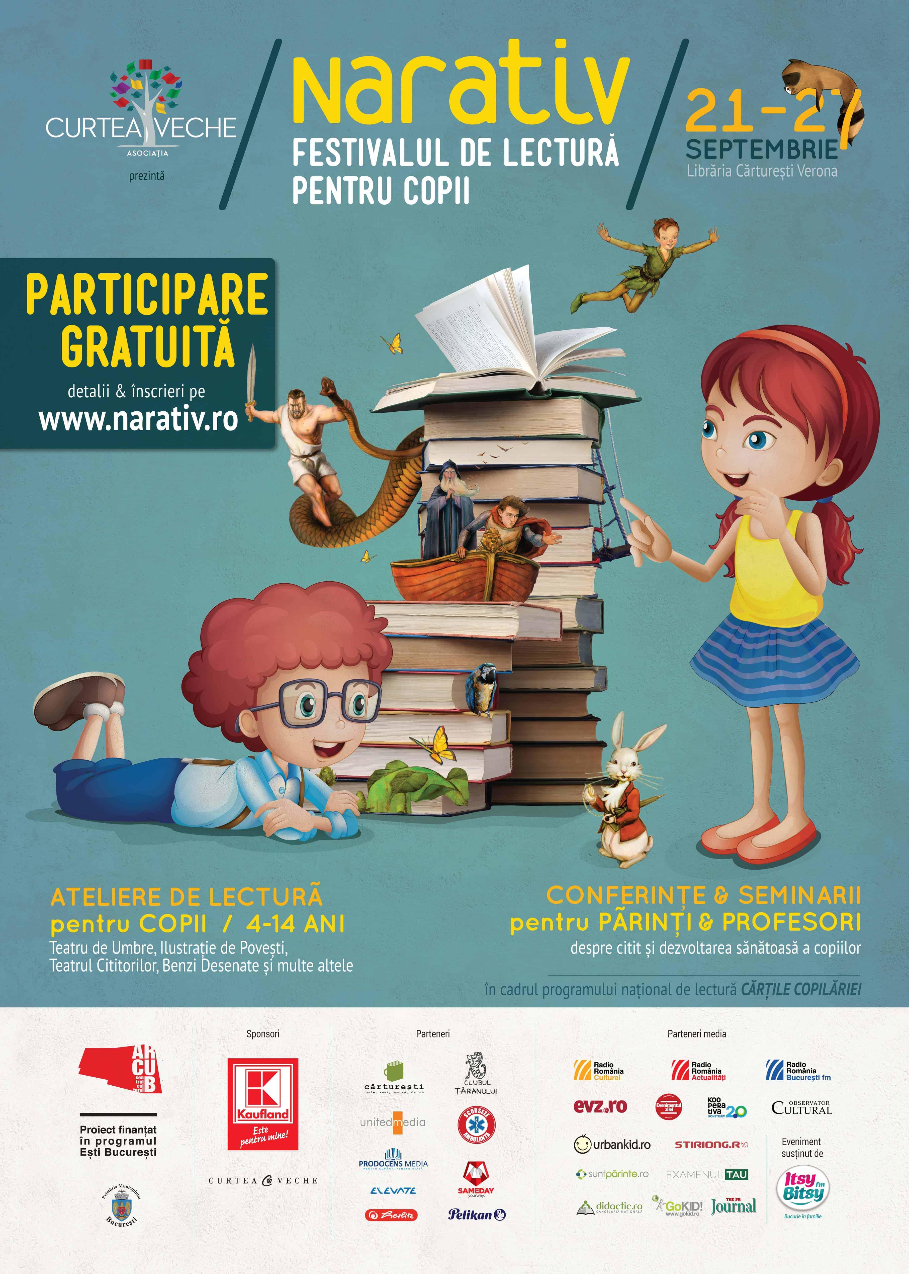 Afis_NARATIV_Festival_de_lectura_pentru_copii_Asociatia_Curtea_Veche
