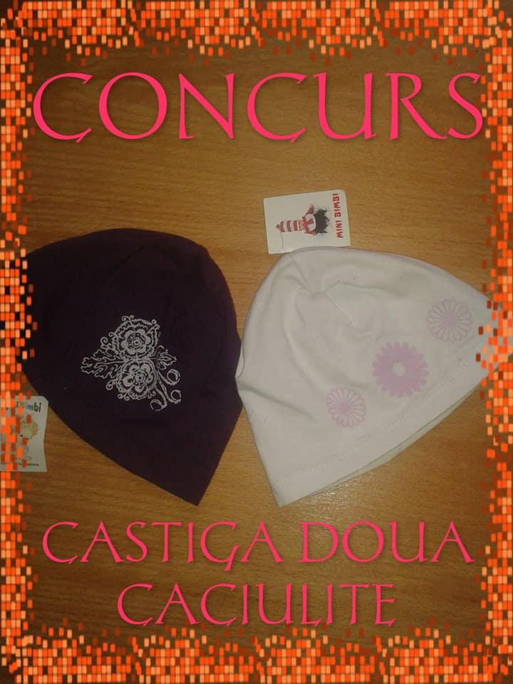 CONCURS CACIULITE